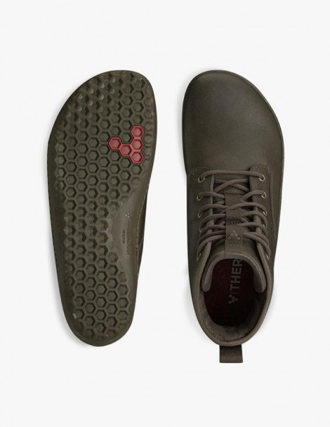 scott II leather mens vivobarefoot chestnut outsole