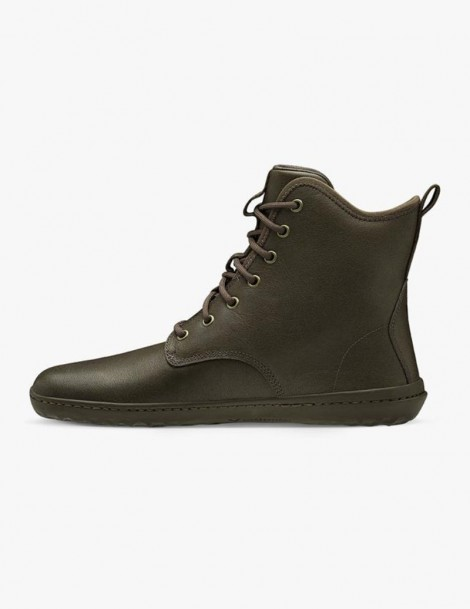 scott II leather mens vivobarefoot chestnut